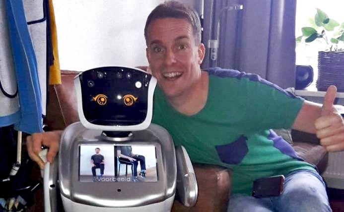 Robot SARA in actie bij Profila Zorggroep