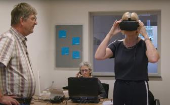 screenshot van video uit aflevering 2 van de videoserie Visie op Zorgtechnologie