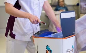 Robot helpt bij hoge werkdruk in het ziekenhuis