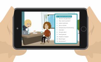 kijksluiter bekijken op tablet informatie over bijsluiter medicijnen