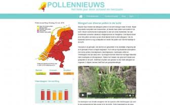 Homepage Pollennieuws.nl