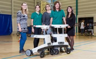 Robot Lea bij Sint Maartenskliniek